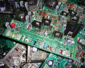Scrap computer ciruit boards