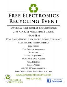 Electronics Recycling Event