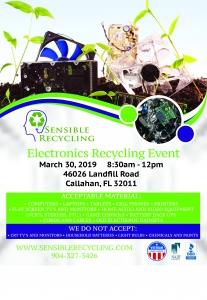 Nassau County electronics recycling event