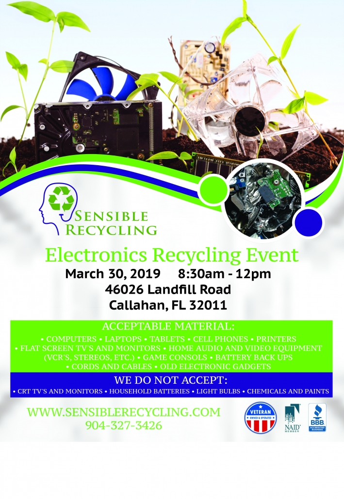 Nassau County electronics recycling event